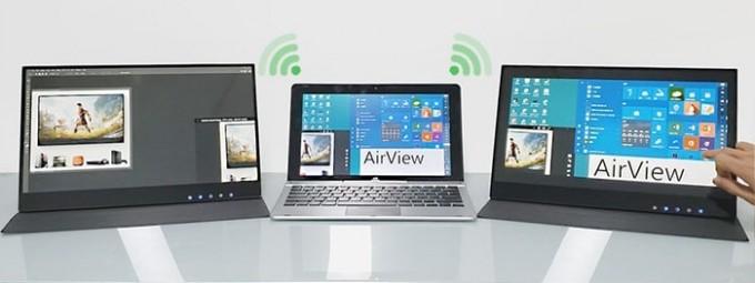 2Airview 輕觸式無線 便攜顯示屏 2