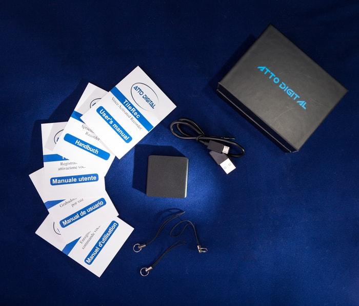 74TileRec 世界最小 聲控錄音機