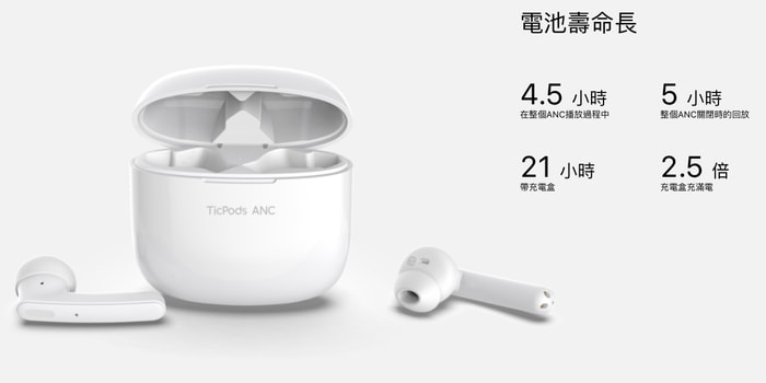 7TicPods ANC 主動式降噪無線耳機
