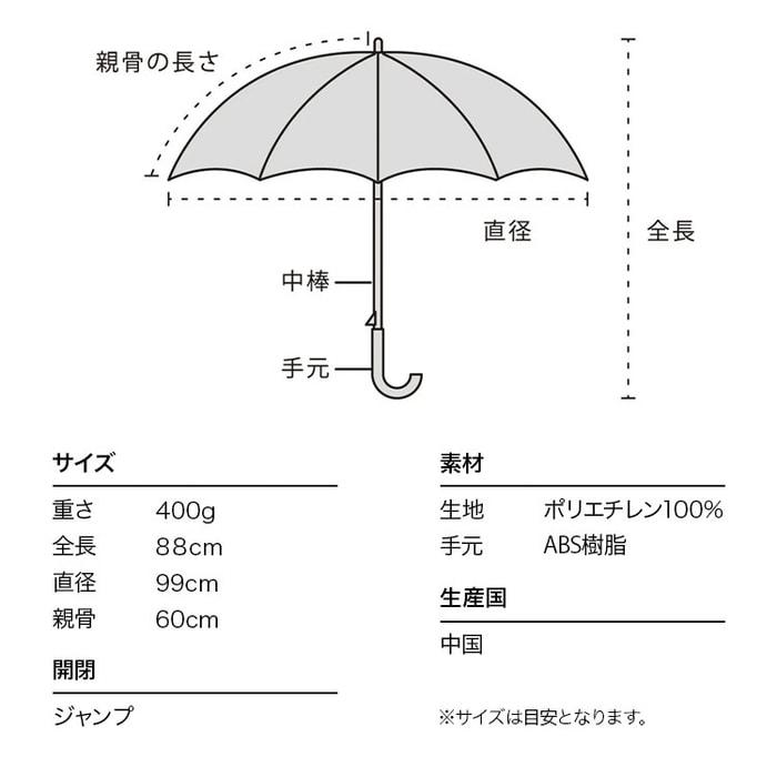 9日本 WPC 極光雨傘