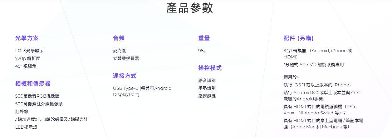 MAD Gaze GLOW 智慧 MR 眼鏡 details 2