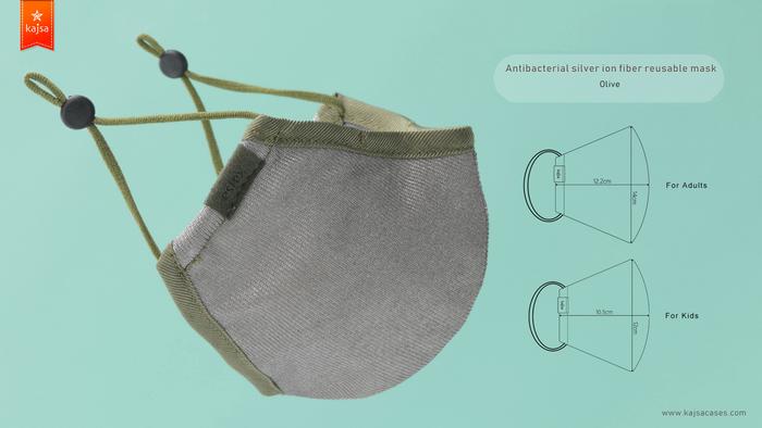 13Kajsa 可重用 銀離子布口罩