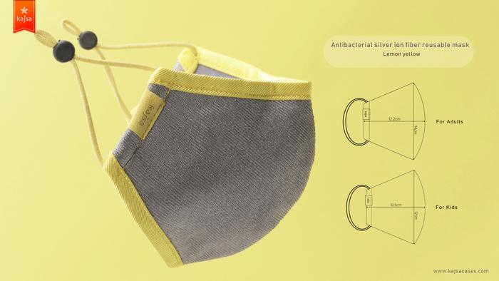 15Kajsa 可重用 銀離子布口罩