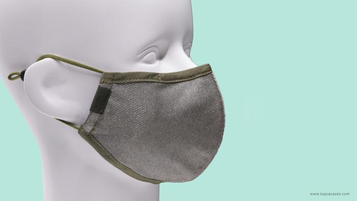 1Kajsa 可重用 銀離子布口罩