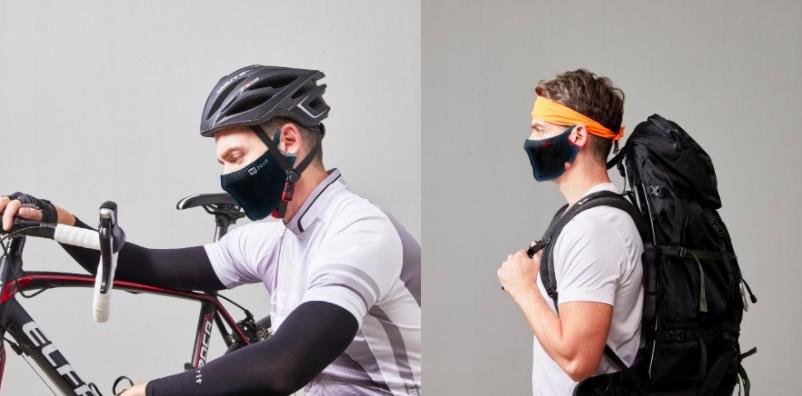 韓國 N-rit 運動專用快乾透氣面罩