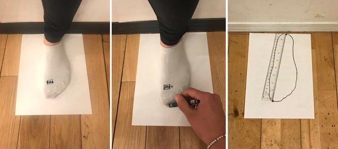 Vessi Footwear 全球首對防水針織運動鞋_尺寸