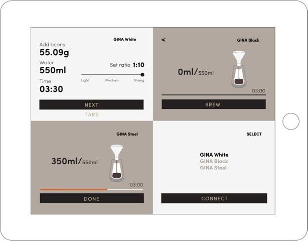 歐州 Goat Story 智能手沖咖啡壺 GINA