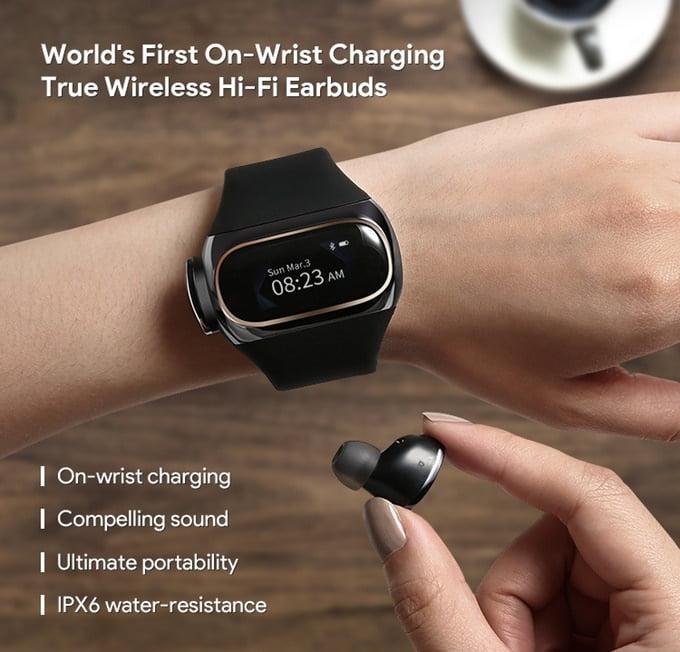 美國 Myaipower 手錶內存無線耳機