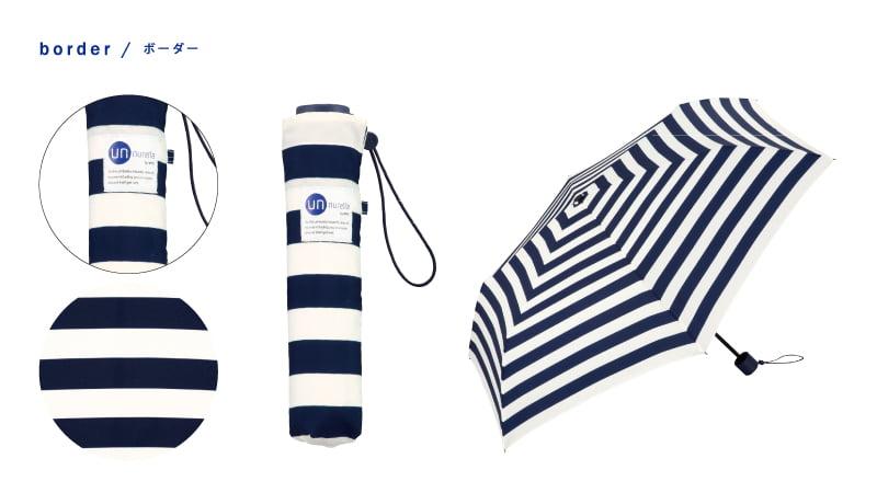 日本 Unnurella 2018年款 Slim 抖掉水珠雨傘 - 折傘 10