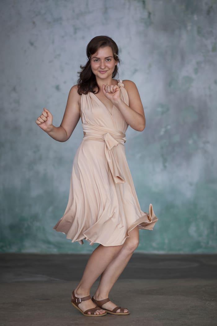 烏克蘭 Omnia Chéri 最優雅 百搭連身裙14