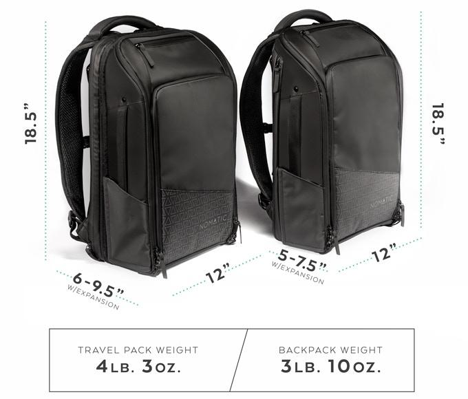 NOMATIC 全功能旅行背包