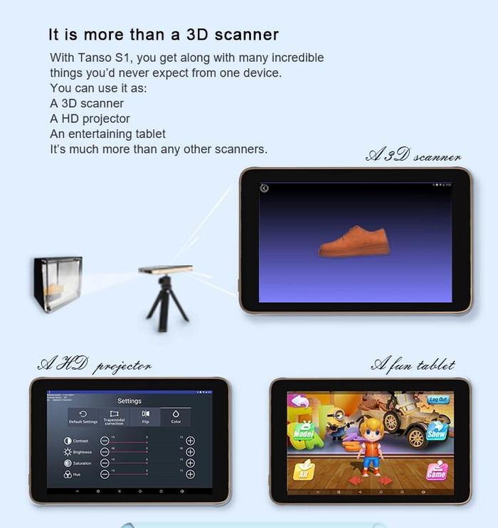 Tanso S1智能觸控 3D掃描儀8