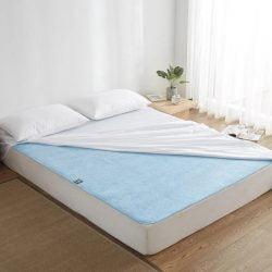 可以洗衣機機洗,方便清潔。抗菌、除臭,保持床墊乾燥的好幫手!