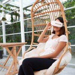 Aurai Vision Plus 酷熱敷 水波震動 眼部熱敷按摩器 搭配7種按摩模式,煲劇熊貓眼、長時間盯著螢幕眼睛乾澀,水波震動深層按摩紓緩。