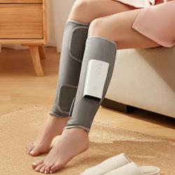 Hakuro小腿按摩器-雙腳套裝 透過氣囊擠壓的方式,按摩小腿肌肉。加熱模式去除小腿水腫、減輕運動後腿部肌肉痠痛、加強腿部塑型