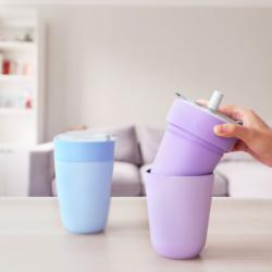 物料外層用上 304不鏽鋼,內層採用日本專利全白硬陶瓷,可裝任何飲料不留味。