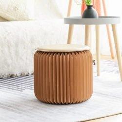 由創意家俱品牌 ihpaper 推出的最省位實用的折疊家具,由茶几、小圓櫈、長凳,甚至貓屋都有