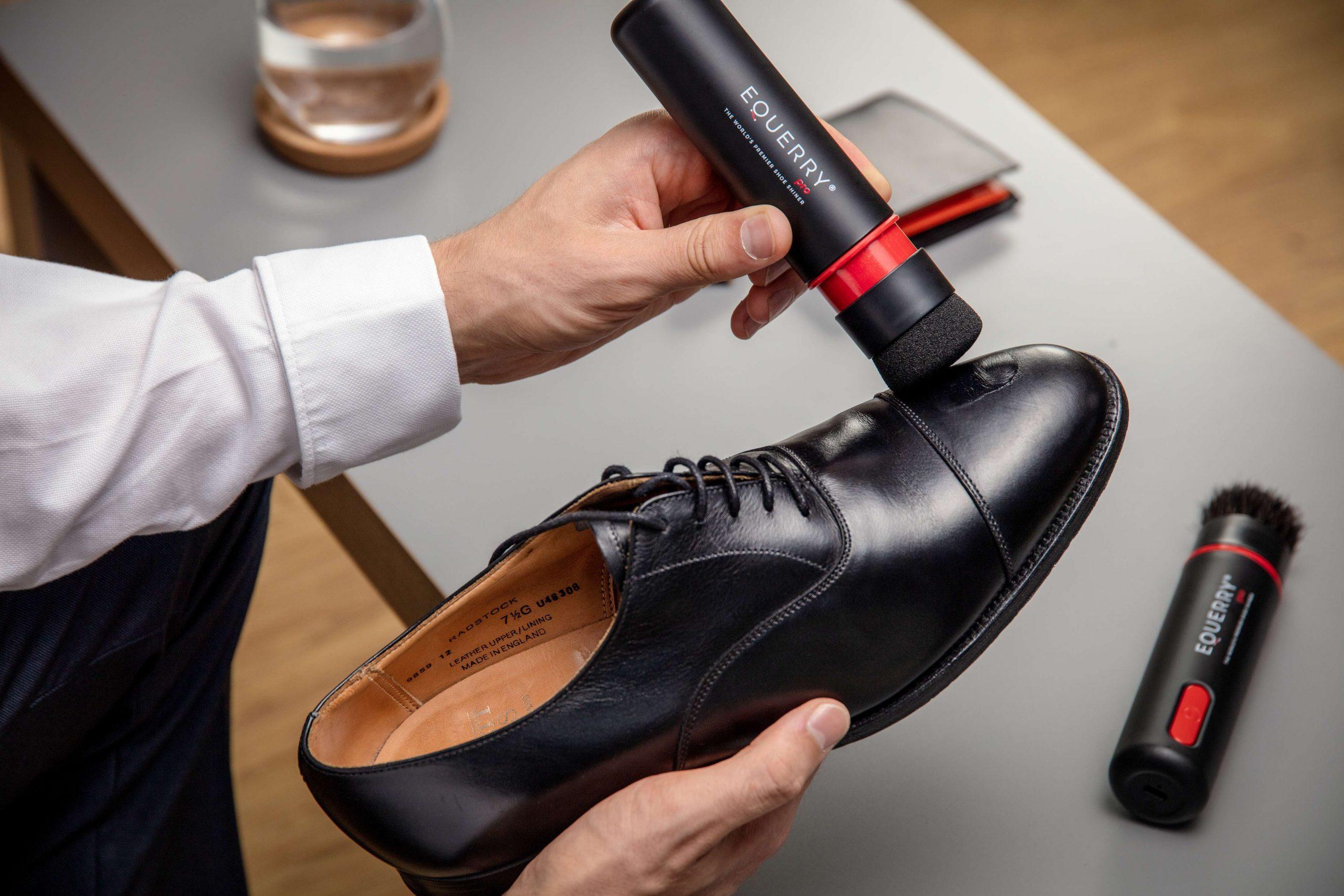 英國 Equerry Pro 2合1電動擦鞋神器