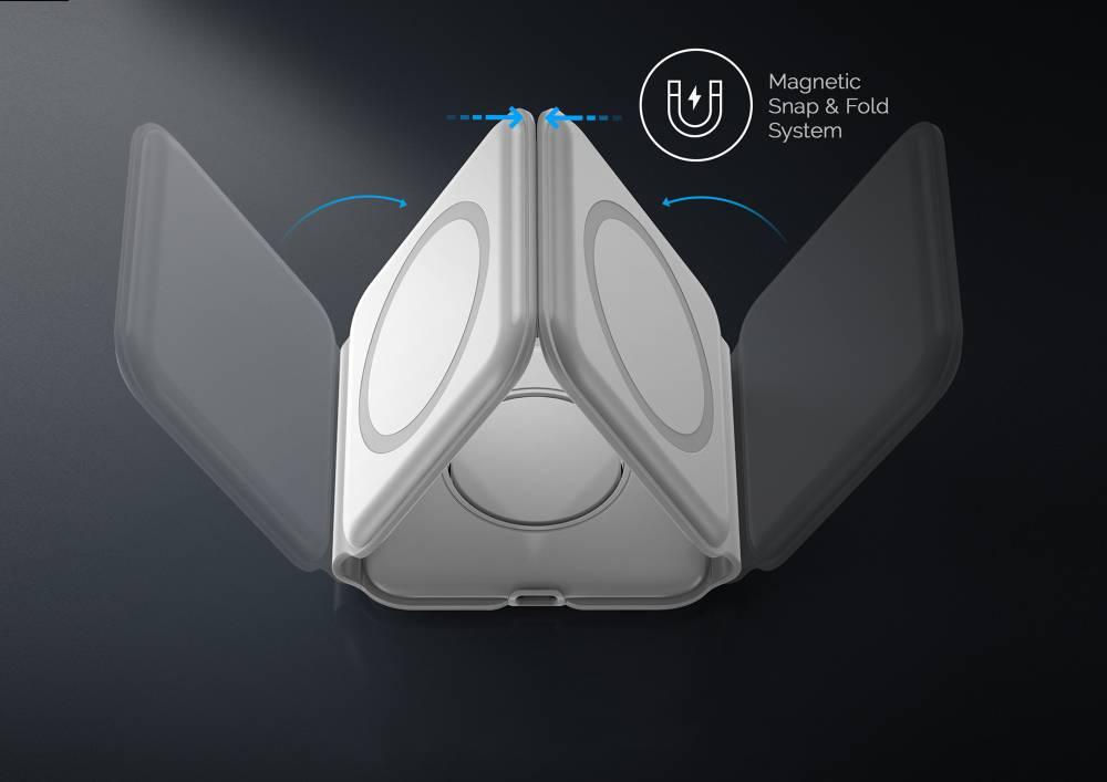 MagStack 三合一摺疊無線充電板
